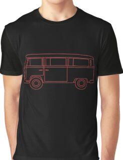 VW T2 Bus Graphic T-Shirt