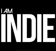 I AM INDIE - Artwork by Nikkona