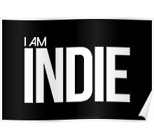 I AM INDIE - Artwork Poster
