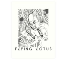 Flying Lotus (You're Dead!) Art Print