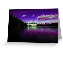 Purple Day at Chateau Lake Louise Greeting Card