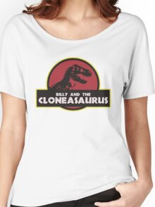 Billy and the Cloneasaurus shirt – The Simpsons, Jurassic World, Jurassic Park, Homer Simpson Women's Relaxed Fit T-Shirt