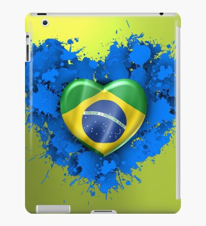 Love Brazil iPad Case/Skin