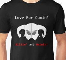 LGKM SKYRIM HELM. Unisex T-Shirt