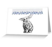 Bunny - Critter Love Collection 3 of 6 Greeting Card