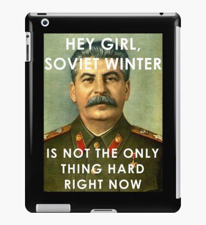 Stalin - Soviet Winter iPad Case/Skin