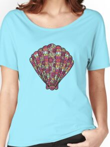 shell gold/pink/orange Women's Relaxed Fit T-Shirt