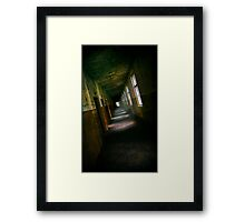 Abandoned hospital Framed Print