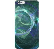 Moon aura iPhone Case/Skin