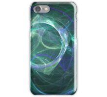 Moon aura iPhone Case/Skin