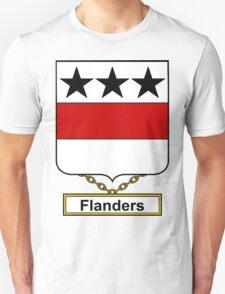Flanders Coat of Arms (English) T-Shirt