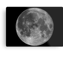 Super Moon  • 11/14/16 • Metal Print