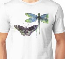 Butterfly + Dragonfly Unisex T-Shirt