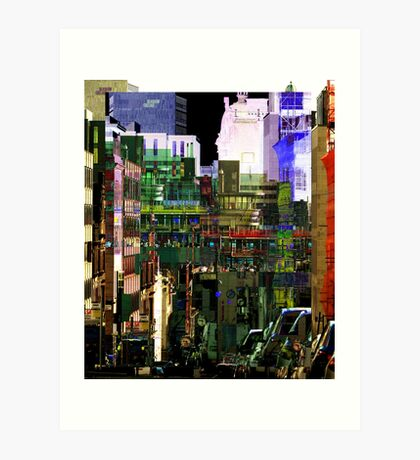 double west regent street Art Print