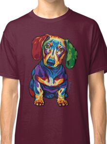 Dachshund - LOVE :) Classic T-Shirt