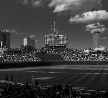Ballpark Shadows #1 by don thomas