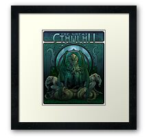 The Great Cthulhu Framed Print