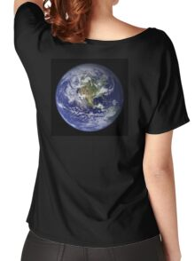 Planet Earth Women's Relaxed Fit T-Shirt