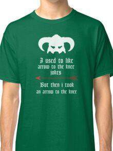 Arrow to the knee jokes Classic T-Shirt