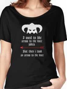 Arrow to the knee jokes Women's Relaxed Fit T-Shirt