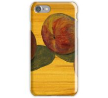 Peach Trio iPhone Case/Skin