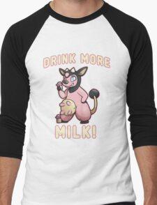 Drink More Milk! Men's Baseball ¾ T-Shirt