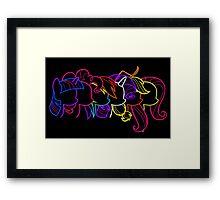 PoNeon Framed Print