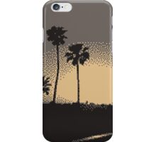 Pixel Sunset iPhone Case/Skin