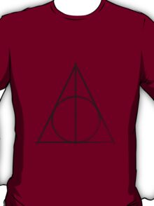 Deathly Hallows Logo - Vintage T-Shirt