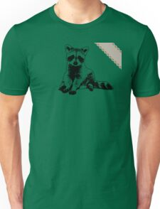 Raccoon - Critter Love Collection 6 of 6 Unisex T-Shirt