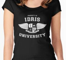 Shadowhunters - Idris University Women's Fitted Scoop T-Shirt