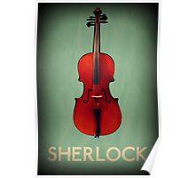 Sherlock Violin Poster