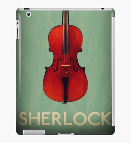 Sherlock Violin iPad Case/Skin