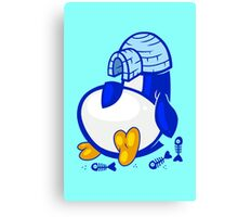 Fat Penguin Canvas Print