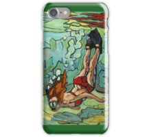 Snorkeling on a Reef iPhone Case/Skin