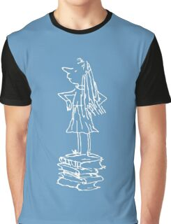 Matilda the Musical Pose Graphic T-Shirt