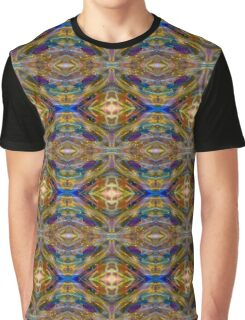 Rainbow Diamond Psychedelic Magic Abstract Graphic T-Shirt