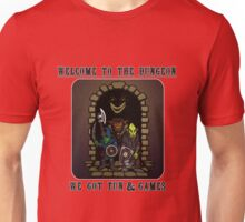 Welcome to the Dungeon - Color Unisex T-Shirt
