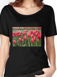 Tulips fields  Women's Relaxed Fit T-Shirt