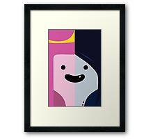 Adventure Time - Princess Bubblegum & Marceline Framed Print