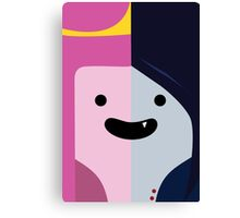 Adventure Time - Princess Bubblegum & Marceline Canvas Print