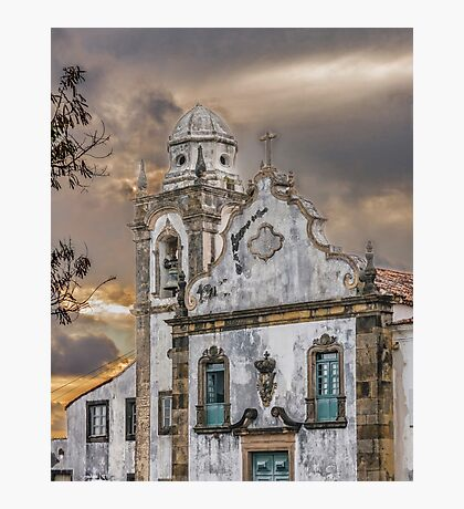 Exterior Facade Antique Colonial Church Olinda Brazil Photographic Print