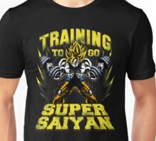 training to go super saiyan ssj gym Unisex T-Shirt