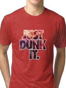 Just dunk it - Darius Dunkmaster  Tri-blend T-Shirt