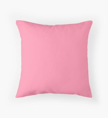 Baker-Miller Pink Throw Pillow