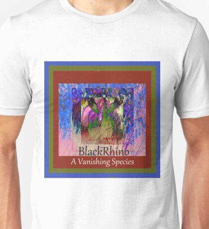 Black Rhino A Vanishing Species Unisex T-Shirt