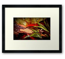 Tree Bark Series Abstract #9 Framed Print