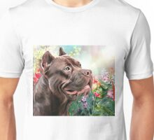 American Staffordshire Terrier Painting  Unisex T-Shirt