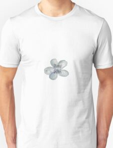 Blue Dream Watercolor Flower T-Shirt
