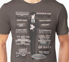 Cat Addict Quotes Unisex T-Shirt